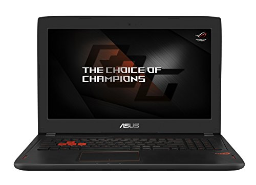 Asus ROG GL502VS-FY043T 39,6 cm (15,6 Zoll mattes FHD) Gaming Notebook (Intel Core i7-6700HQ, 8GB, 1TB HDD, 512GB SSD, GeForce GTX 1070 8GB VRAM, Win 10) schwarz