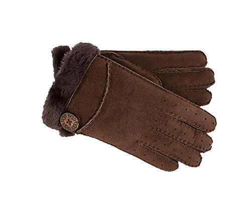UGG Women's Side Vent Bailey Glove Chocolate MD by UGG