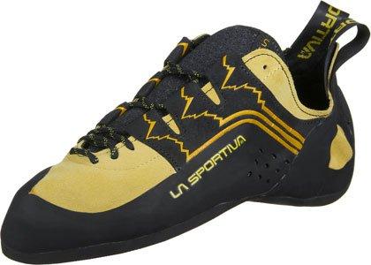 Sportiva La Scarpe nere Laces gialle da Katana arrampicata drwqa7wx