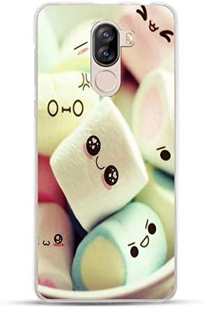 Easbuy Cute Soft TPU Silicium Etui /Étui Housse Coque pour DOOGEE X60L Smartphone Anti-Scratch Silicone Silikon Cover Silicon Case