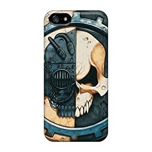 Special CC WalkingDead Skin Case Cover For Iphone 5/5s, Popular War Hammer Phone Case
