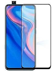 Huawei Y9s 9D glass full screen protector, Black