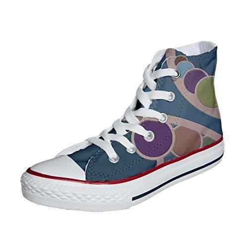 Converse All Star scarpe personalizzate (scarpe artigianali) Retro