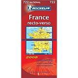 Carte routière : France recto/verso