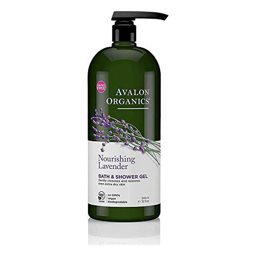 🥇 Avalon – Gel de baño hidratante con aroma a lavanda