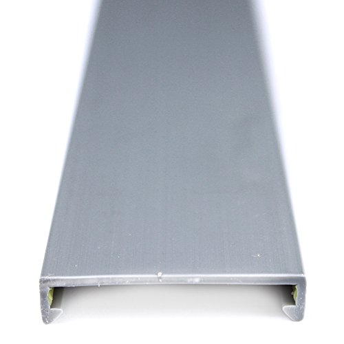 Panduit C1.5LG6 Wiring Duct Cover, PVC, Light - Duct Gray Wire
