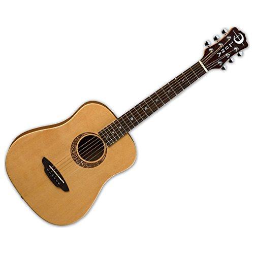 (Luna Safari Series Muse Spruce 3/4-Size Travel Acoustic Guitar - Natural)