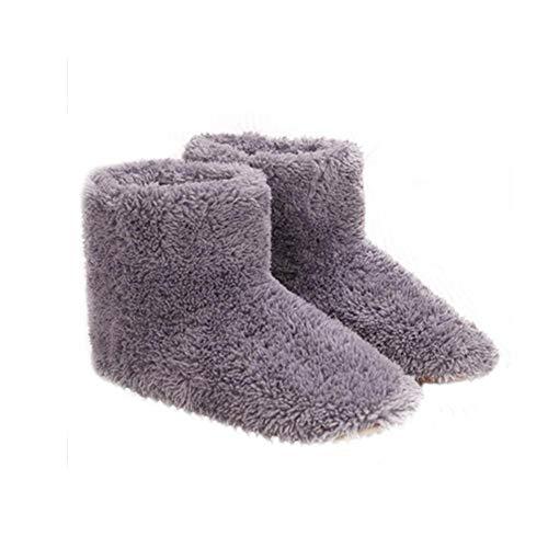 Riscaldamento Pictury Grigio nbsp;– Supplies Usb nbsp;coppia Elettrico Scarpe Di Foot Caldo Peluche xqCE4pwqa