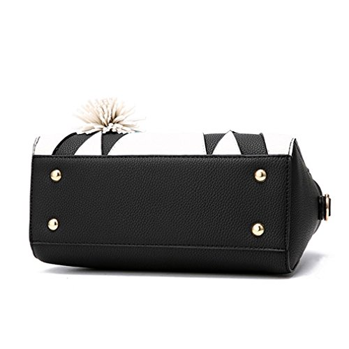 Tote Women Black Bag Women For Crossbody Bag Casual Bag Patchwork Panelled Women Handbag Women fxwqOIvX