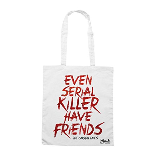 Borsa Even Serial Killer Have Friends Joe Carroll Lives The Following - Bianca - Film by Mush Dress Your Style
