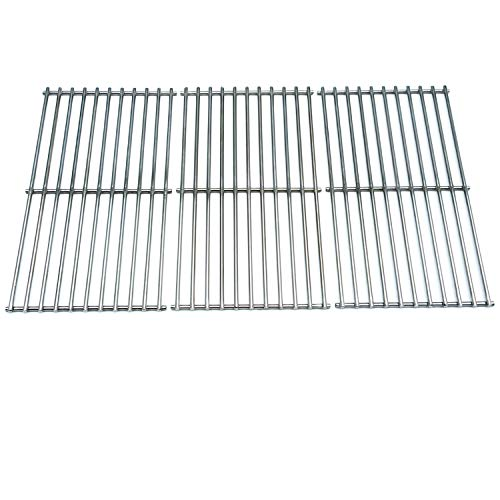 Direct store Parts DS105 Solid Stainless Steel Cooking grids Replacement Ducane:4100, Affinity 4100, Affinity 4200, Affinity 31421001; Master Forge : MFA550CBP, P3018 Gas ()