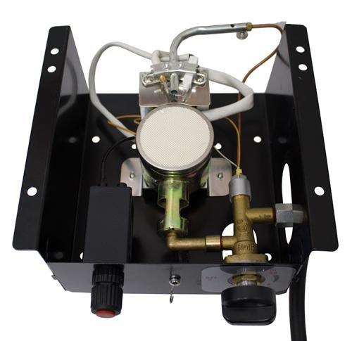 Patio Heater Glass Tube Burner for Triangle Heater 6 Bolt Holes FCPTGT-BURNER-WL