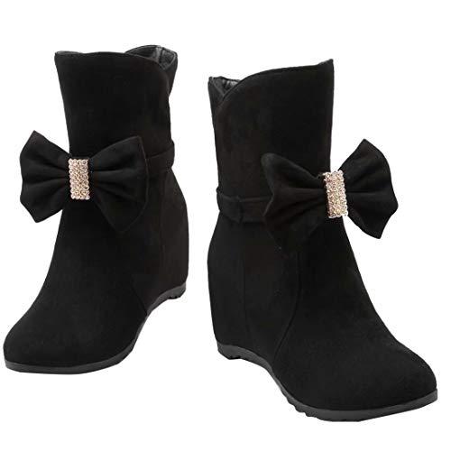 AIYOUMEI Classic Women's Boot Women's Black AIYOUMEI Women's Classic Black Boot AIYOUMEI tqgw7xUI