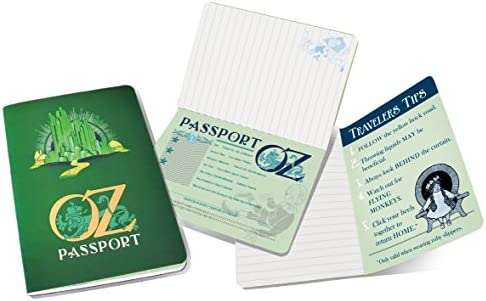 office products, office, school supplies, paper, notebooks, writing pads,  subject notebooks 3 image Passport to Oz Mini Notebook in USA