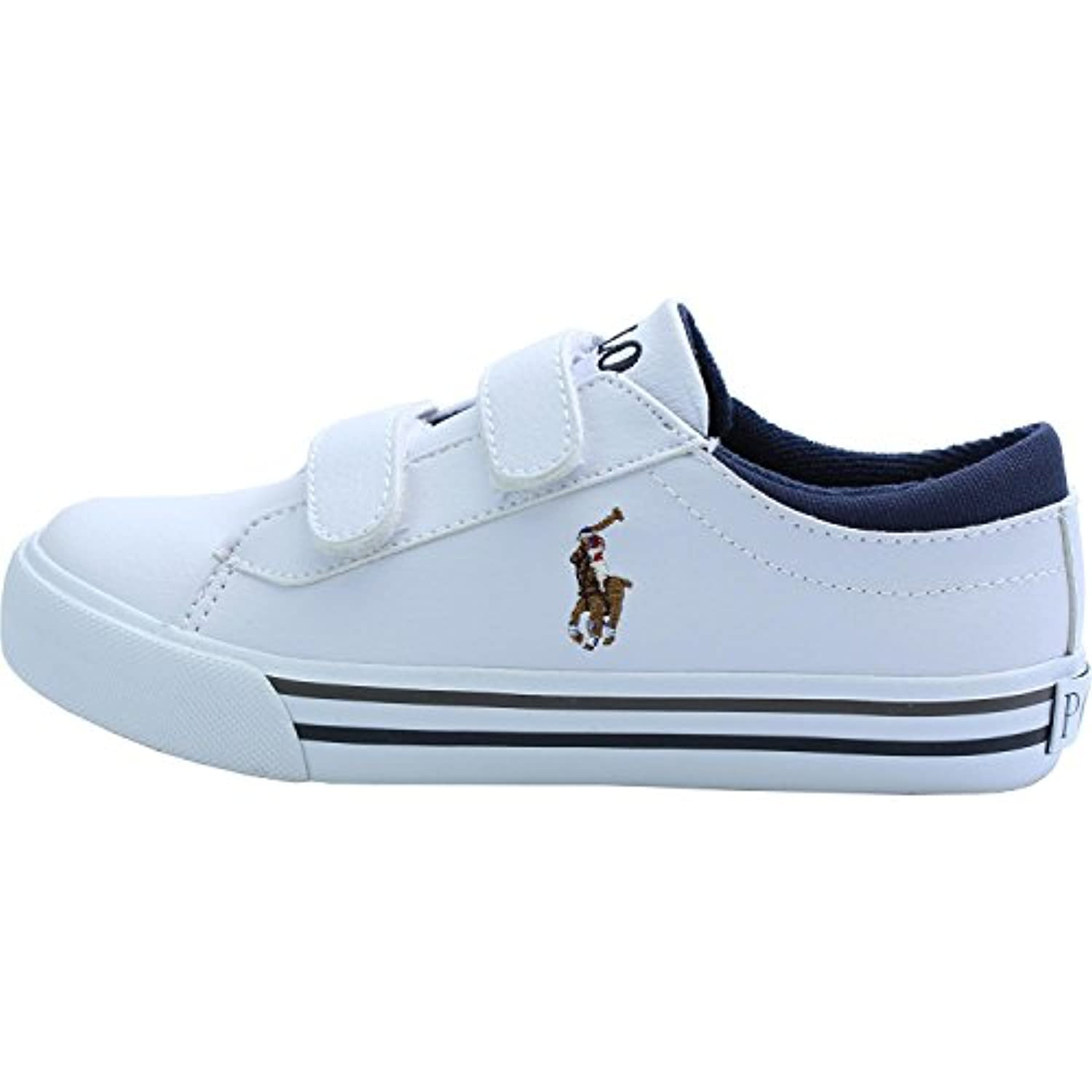 Polo Ralph Lauren Harrison Ez Junior White Synthetic 2 UK