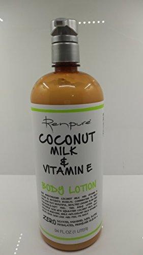 Renpure Coconut Milk & Vitamin E Body Lotion 34 fl oz by RENPURE