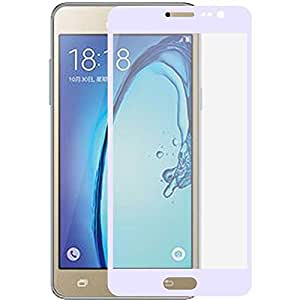 Clear Tempered Glass Screen Protector with White Frame For Samsung Galaxy_Grand 2