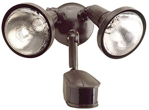 EATON Lighting MS245R 270 Degree 300W PAR Motion Security Floodlight with Reflectors, Bronze
