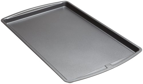 Good Cook 04022 4022 Baking Sheet, 0.9 cu-ft Capacity, 11 in W x 17 in L, Silver