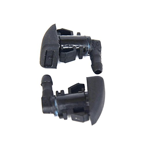 Windshield Wiper Water Spray Jet Washer Nozzle For 2008-2...