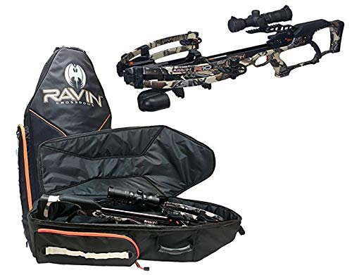 (Ravin R10 Crossbow Package Predator Camo with Soft Case Bundle)