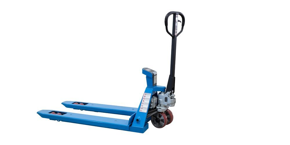 Eoslift Scale Pallet Jack with Mettler Toledo Scale and Printer, Fork Size, 27'' W x 48'' H by Eoslift