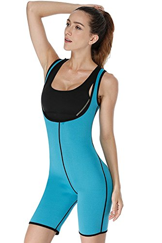NonEcho Sleeves Full Body Shapewear Sauna Suit Neoprene Weight Loss GYM Sport Aerobic Boxing - Suit Running Body Full