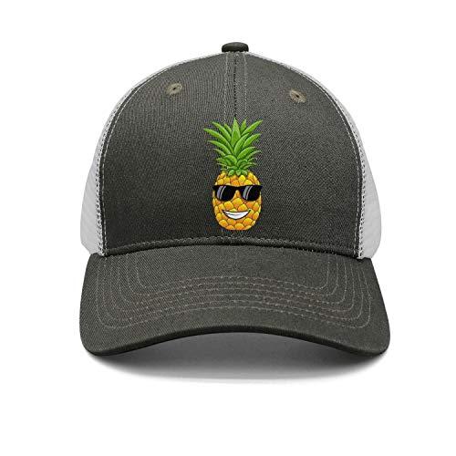 - srygjukuu Unisex Hawaiian Pineapple Sunglasses Caps Street Dancing Visor Hats