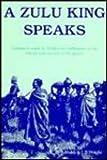 A Zulu King Speaks, Cetshwayo, 0869805762