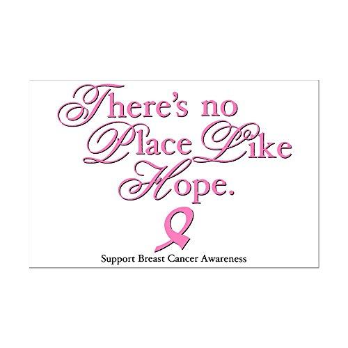 Mini Poster Print Cancer Pink Ribbon No Place Like Hope