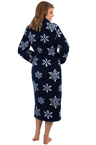 5d9473b361 Jual VEAMI Women s Warm Microfiber Fleece Bathrobe