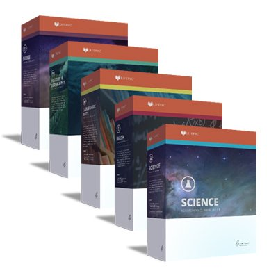 LIFEPAC 7th Grade 5-Subject Complete Boxed Set