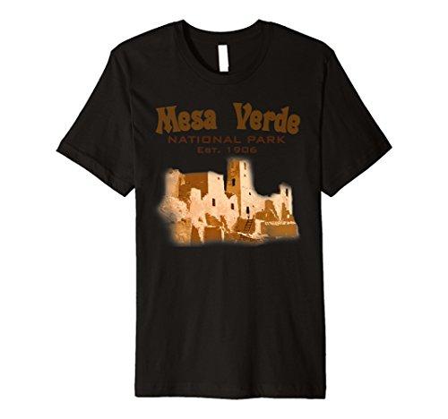 Travel Mesa Verde National Park Colorado USA State T Shirt by National Parks Traveling T-Shirts