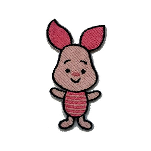 InspireMe Family Owned Baby Piglet Fully Embroidered Sew/Iron