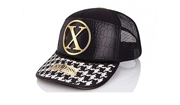 Xtress Exclusive Gorra de diseño blanca y negra para hombre y mujer: Amazon.es: Ropa y accesorios