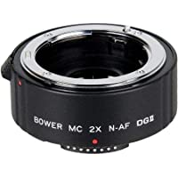Bower SX4DGC 2x Teleconverter for Canon 6D (4 Element)