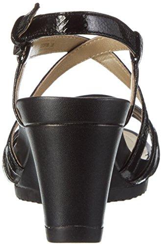 blackc9999 B Rorie Nero Donna Zeppa D New Sandali Con Geox qEtzvPw