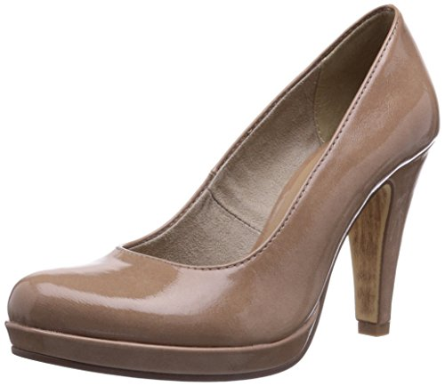 Tamaris 22426, Womens Courts Beige (Nude Patent (253))