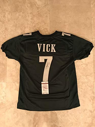 Michael Vick Autographed Signed Memorabilia Custom Stitched Eagles Jersey - JSA Authentic