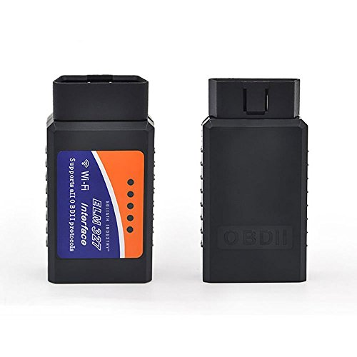 Goliath Industry Wireless OBD2 Car Code Reader Scan Tool [Upgraded Version] Connects Via WiFi With Any IOS, Android & Windows Device - Features A 3000 Code Database, For Most Cars & Trucks In The USA