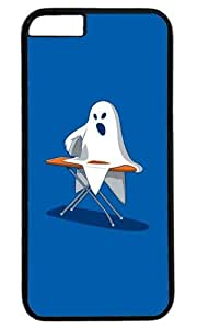 Funny Ghost Case for iPhone 6 PC Black by Cases & Mousepads
