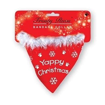 Christmas Dog Bandana Collar: Amazon.co.uk: Kitchen & Home