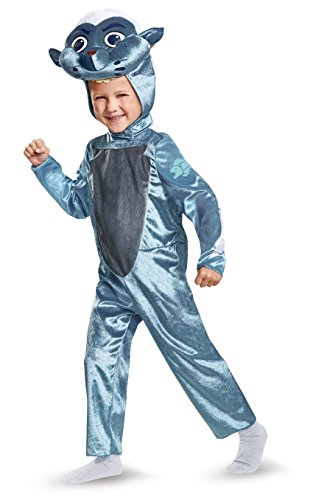 Lion King Dress Up Costumes (Bunga Classic Toddler Costume, Blue, Large (4-6))