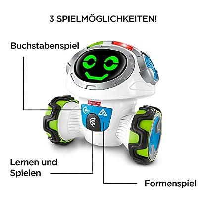 Fisher-Price FKC35 Lern-Roboter Movi interaktiver Lernspielzeug Roboter deutschsprachig, ab 3 Jahren 3