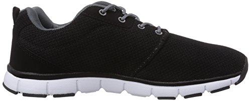 Bruetting Amarillo Herren Sneakers Schwarz (Schwarz/Grau)