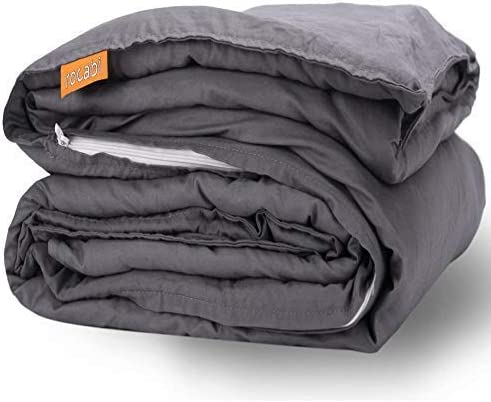 Twin//Queen//King Size Weighted Blanket 15//20//25lb Kids Adults Promote Deep Sleep