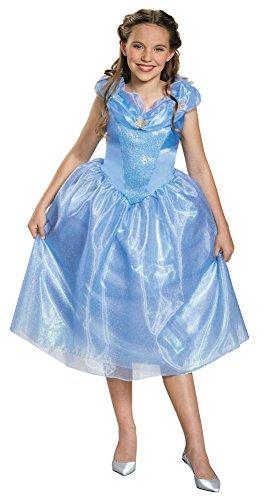 Cinderella Halloween Costume For Tweens (Girls Halloween Costume- Cinderella Tween Costume Medium 7-8)