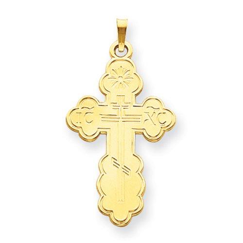 Icecarats Créatrice De Bijoux 14K Orientale Pendentif Croix Orthodoxe