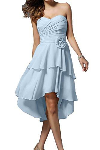 Vestido trapecio claro para mujer Topkleider azul dUYSdx