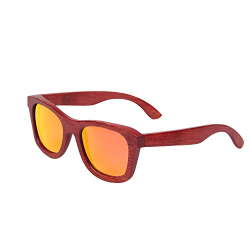 de gafas ynport libre gafas bamboon rojo madera hombre wayfrarer al de sol naranja para de aire mujer crefreak gafas sol marco para rtqwt6Y